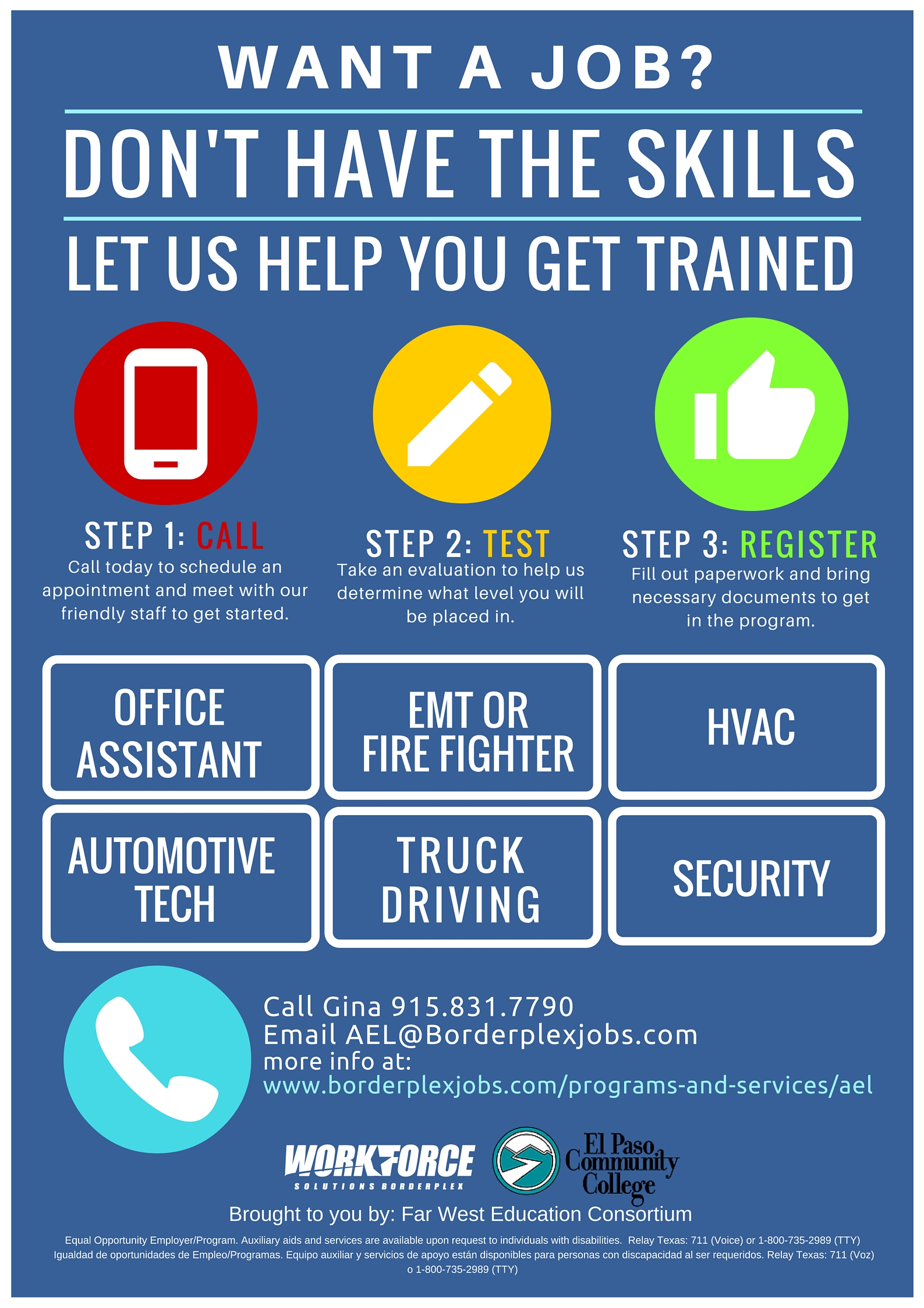 How do you contact Workforce Solutions in Texas?