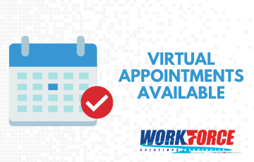 Virtual One-on-One Appointments for Job Seekers Needing Help